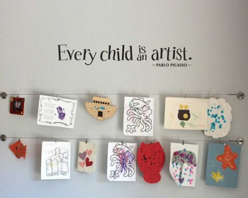 Every Child is an Artist - Picasso