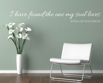 I Have Found Quotes Wall Decal Love Vinyl Art Stickers