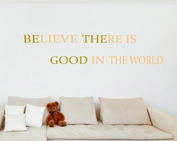 Believe There Is Quotes Wall Decal Motivational Vinyl Art Stickers