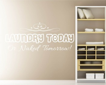 Laundry Room Quotes Wall Decal Family Vinyl Art Stickers
