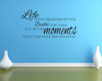 Life is not Measured by Breaths...