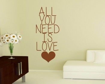 All You Need Quotes Wall Decal Motivational Vinyl Art Stickers