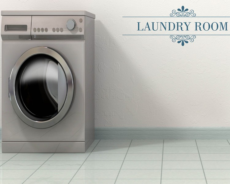 Laundry Room Quotes Wall Decal