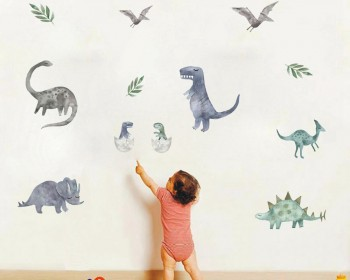 Various Dinosaurs Animals Wall Stickers