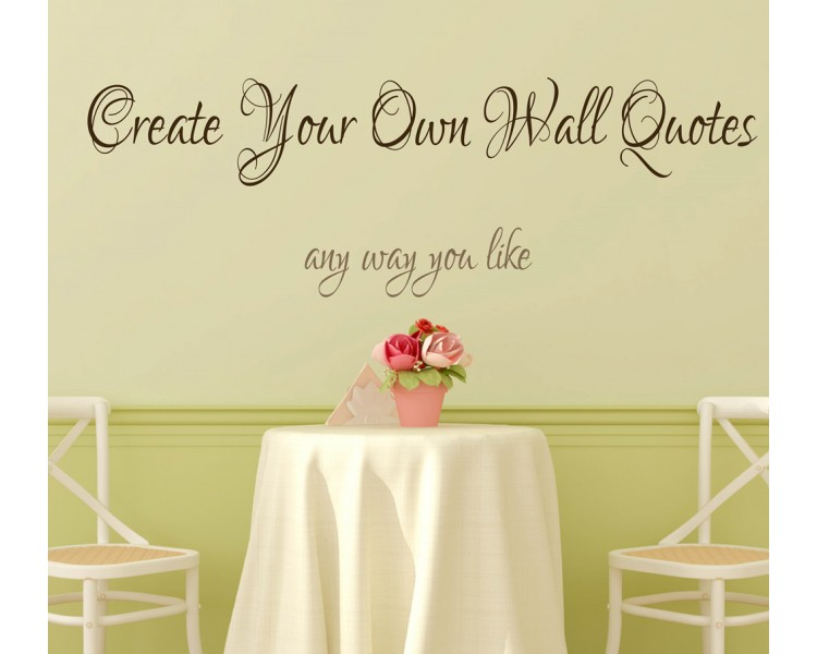 Vinyl Wall Decals Quotes Canada