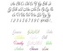 Name Text Wall Decals - Create Your Own Wall Quotes Lettering - Annabelle