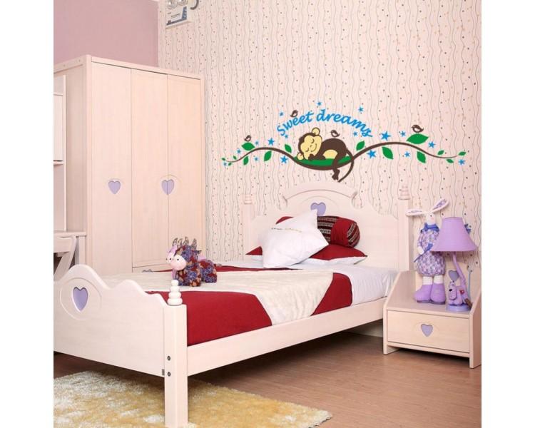 Sweet Dreams - Monkey Sleeping on the Branch