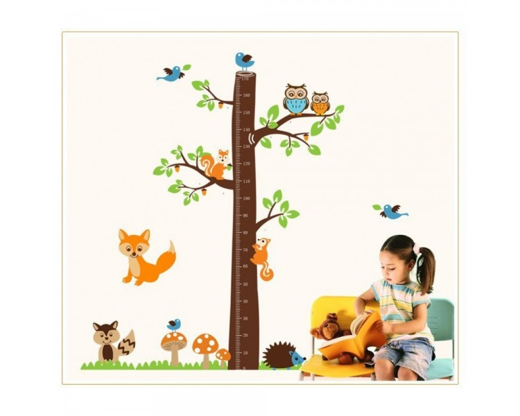tree growth chart wall decal tree growth chart wall decal