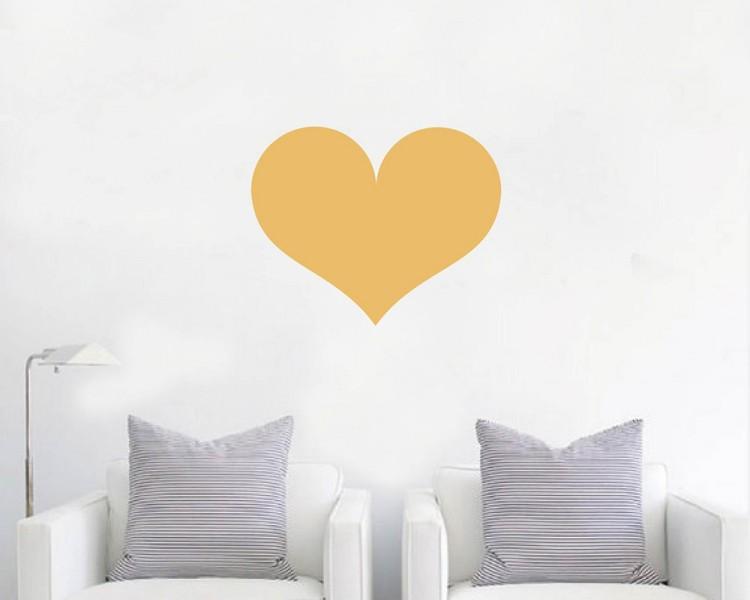 love heart wall decal baby nursery modern vinyl sticker