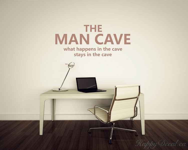 Classic Man Cave Quotes : The man cave quotes wall decal motivational vinyl art stickers