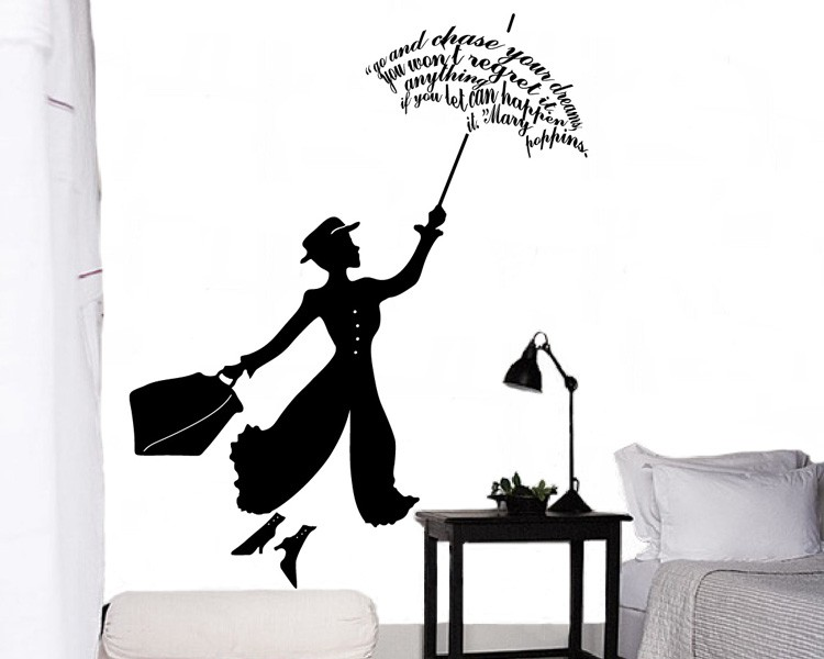 movie star vinyl decals silhouette wall art sticker